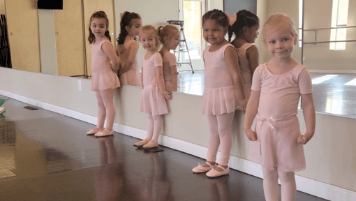 Ballet preschool summer class Ballet Rincon